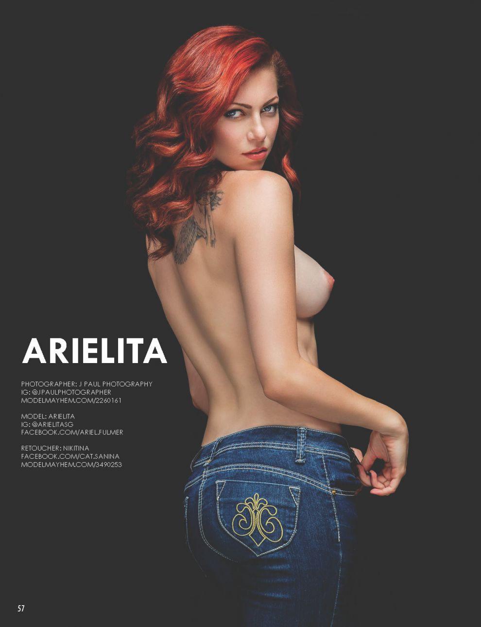 Arielita Sexy Nude Photoshoot (2)
