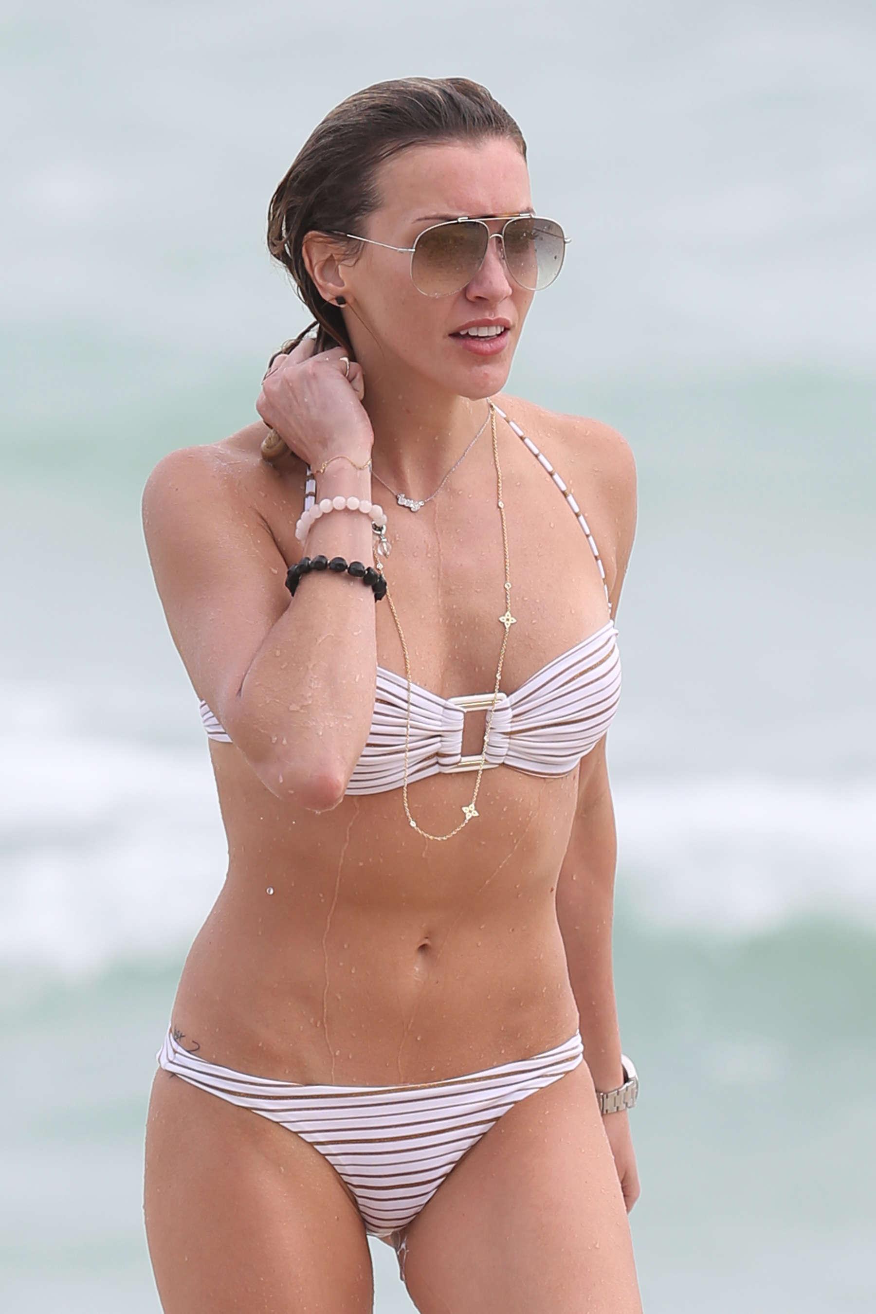 Katie-Cassidy-in-White-Bikini-05